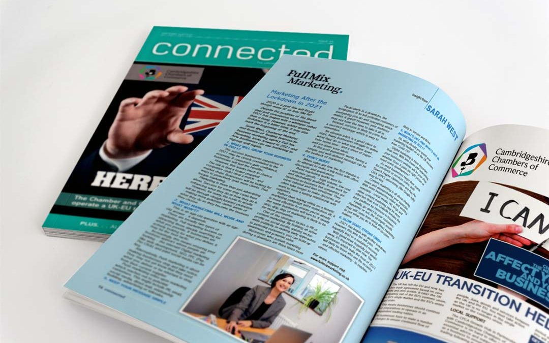 Connected Magazine – Marketing After the Lockdown in 2021