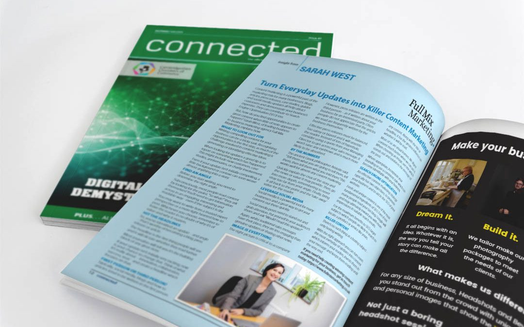 Connected Magazine – Killer Content Marketing